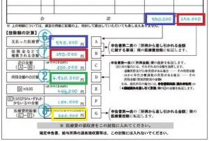医療費明細書2
